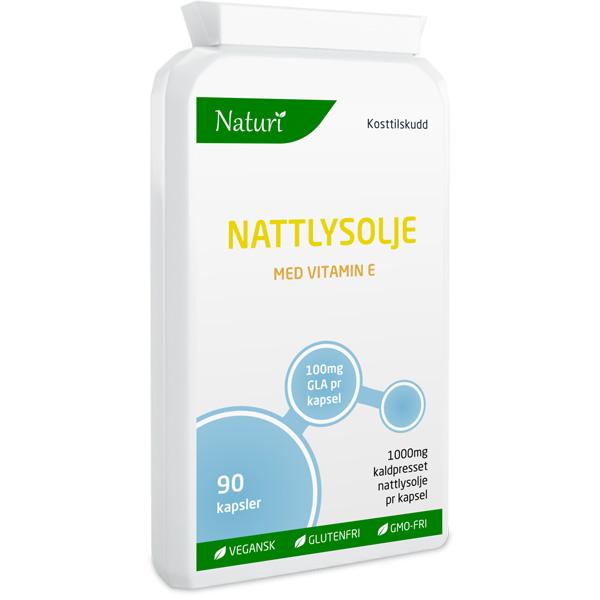 Nattlysolje