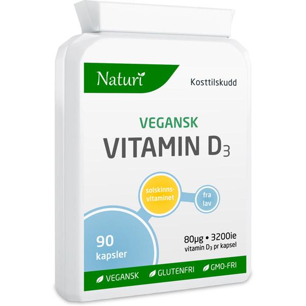 Vegansk vitamin D3